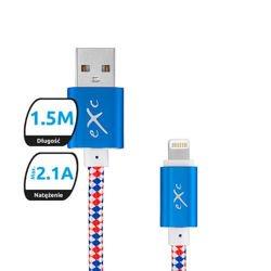 Kabel USB eXc Lightning 1,5m mix Apple