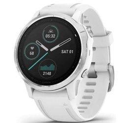 Zegarek GARMIN Fenix 6S Smartwatch srebrno - biały