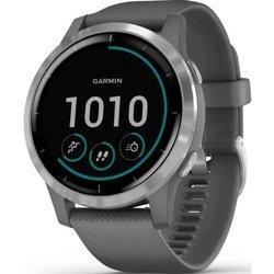 Zegarek GARMIN Vivoactive 4 Smartwatch szaro - srebrny