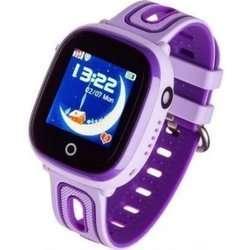 Zegarek - Smartwatch dla dzieci Garett Kids Happy fioletowy