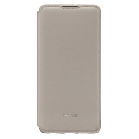 Etui Flip Cover do Huawei P30 khaki