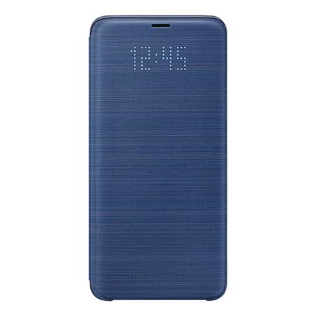 Etui LED View Cover do Samsung Galaxy S9+ Niebieski