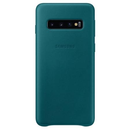 Etui Leather Cover do Samsung Galaxy S10 zielone