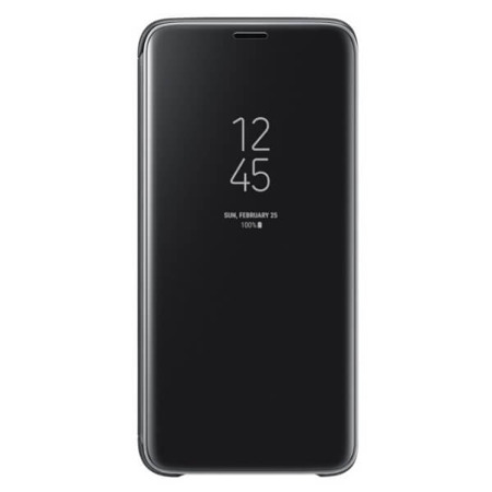 Etui Samsung Clear View Standing Cover do Galaxy S9 czarne