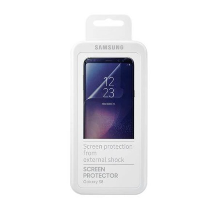 Etui Screen Protector do Galaxy S8 Transparent, przezroczysty