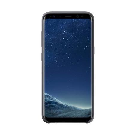 Etui Silicone Cover do Galaxy S8 Silver/Gray, srebrno-szary