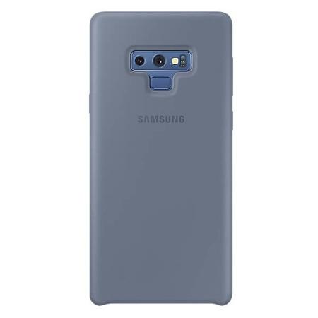 Etui Silicone Cover do Samsung Note 9 niebieskie