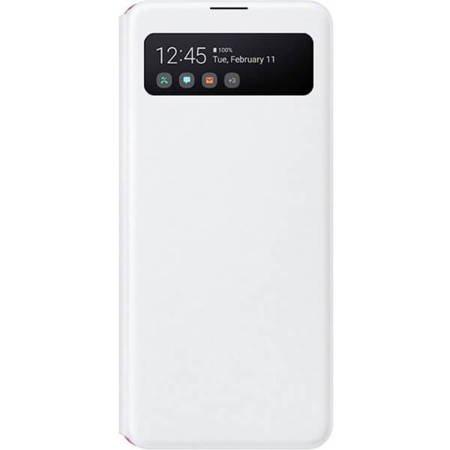 Etui z klapką do Samsung Galaxy A41 białe