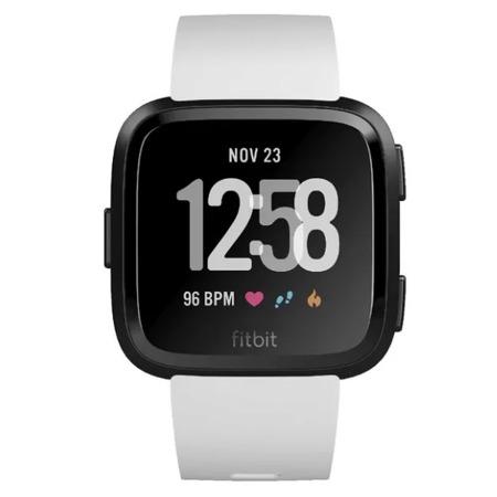Fitbit Versa biały/czarny