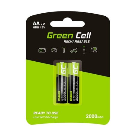 Green Cell 2 x AA HR6 2000mAh