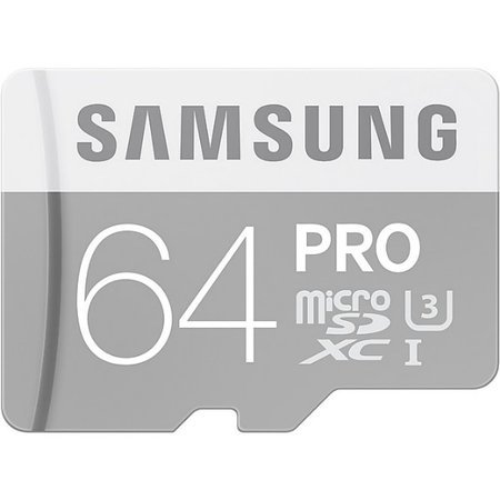 Karta pamięci MicroSD Samsung PRO 64GB z adapterem