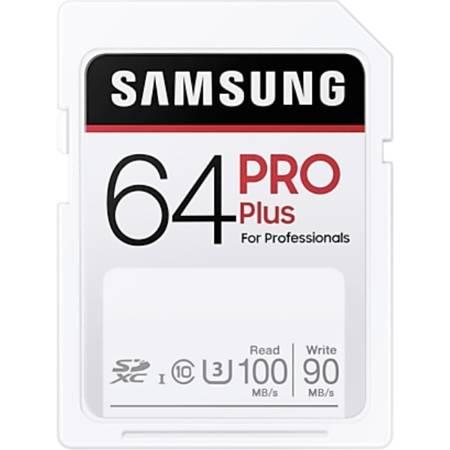 Karta pamięci SD Samsung PRO Plus 64 GB