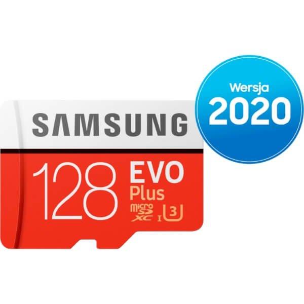 Karta pamięci Samsung microSD z adapterem EVO Plus 2020 128 GB