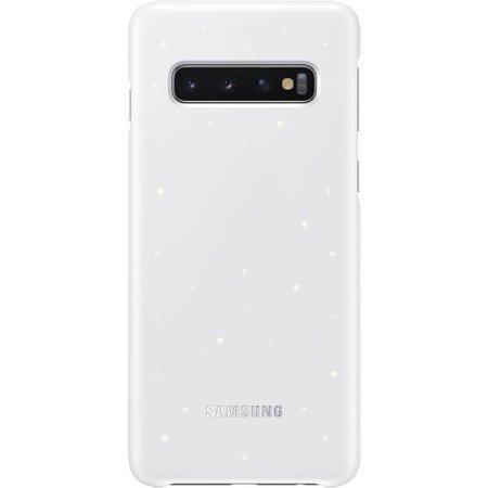 LED Cover do Samsung Galaxy S10 białe