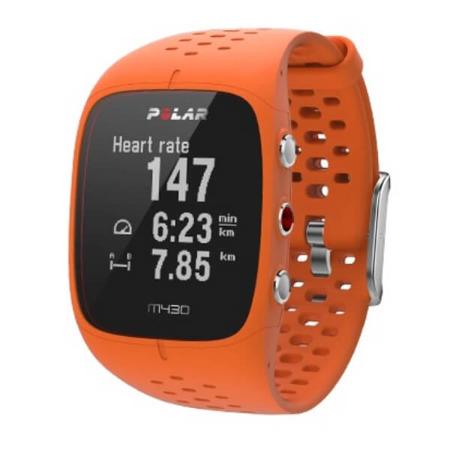 Polar Zegarek do biegania M430 Pomarańczowy M/L
