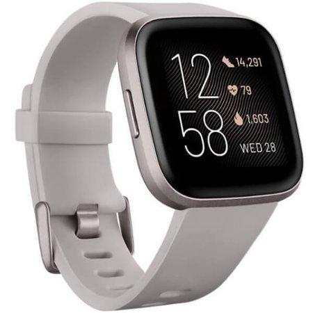 Smartwatch - Zegarek Fitbit Versa 2 szary