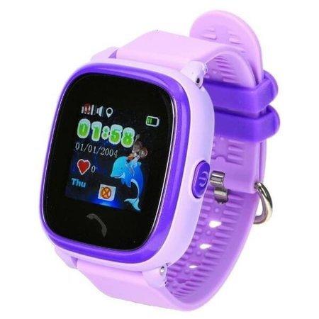 Smartwatch dla dzieci Garett Kids 4 fioletowy