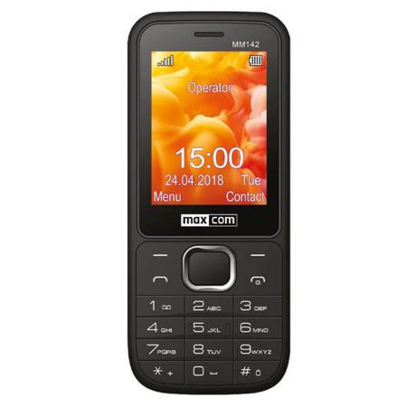 Telefon MaxCom Classic MM142 czarny