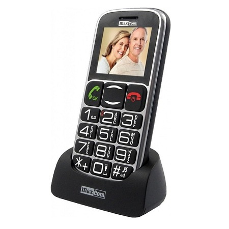 Telefon MaxCom MM462BB czarny