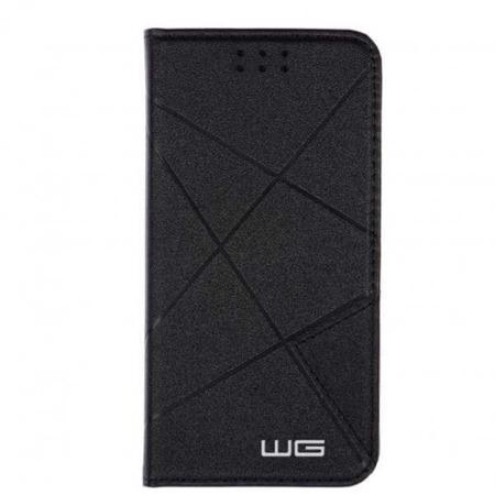 WG Pokrowiec Cross Flipbook czarny Huawei P10 Lite
